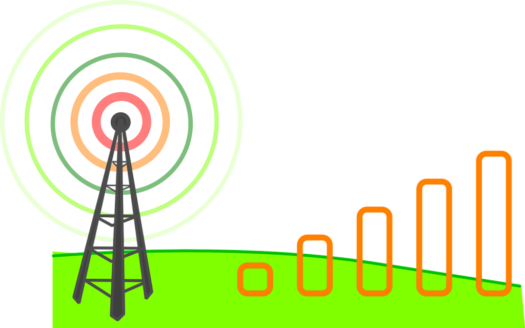 cell tower signal strength connection